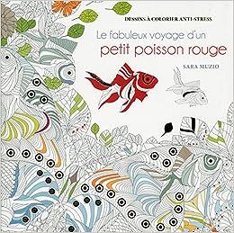 Le Fabuleux Voyage D Un Petit Poisson Rouge Dessins A Colorier