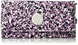 New Teddi Printed Continental Wallet Wallet, OCEAN BREEZE PURPLE, One Size