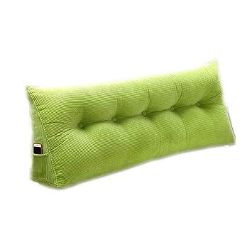 Amazon.com: Cojín lumbar largo para dos personas, almohada ...