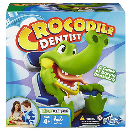 Hasbro Elefun & Friends Crocodile Dentist Game (Amazon Exclusive) (Bite Alligator)