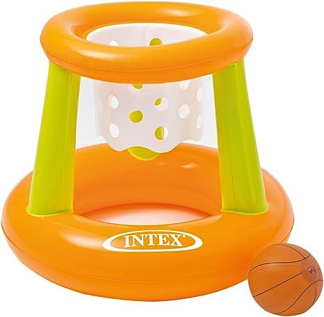 Intex 58504NP - Canasta hinchable y flotante 67 x 55 cm: Amazon.es: Juguetes y juegos