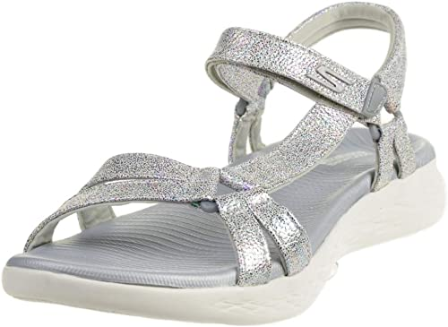 Visualizar Explosivos acoplador  Skechers Damen Sandalen ON The GO 600 Odyssey Silber: Amazon.de: Schuhe &  Handtaschen