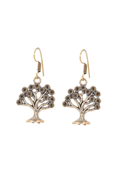 Light Earrings Prom 0510-23 Designer Earrings Indian Danglers Khussa Golden Earrings