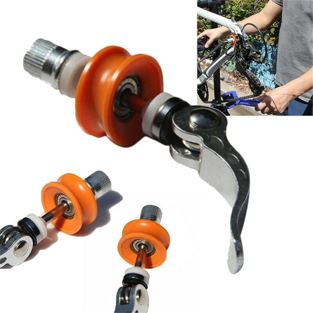 Bike Dummy Hub Tool Quick Cleaning Cycling Bicycle Chain Holder Keepers