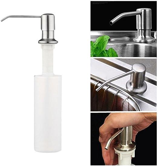 Spülmittelspender Seifenspender Küche Spüle Dispenser Spülbecken Spender