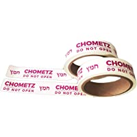 """Kosher Tape Plus Removable Passover Chometz Tape - Do Not Open, No Sticky Residue, 1"""" x 60' 2-Pack (120' Total)"""