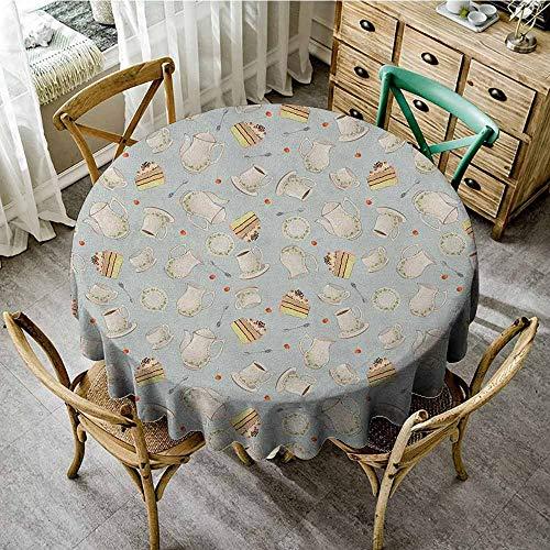 Round Tablecloth Trellis 70