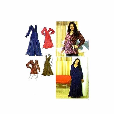 Amazon Womens Dress Jumper Tunic Khaliah Ali Simplicity 3671