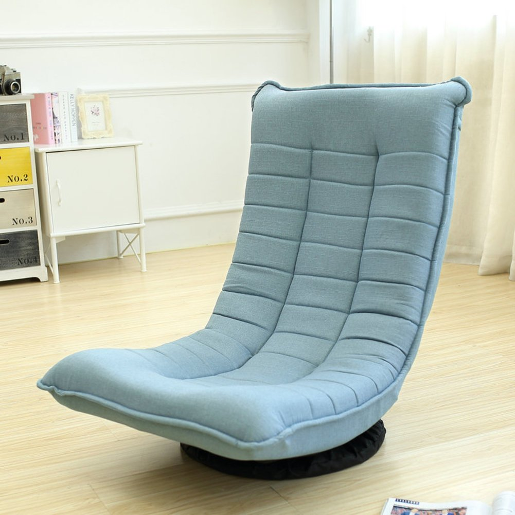 Tatami lazy sofa folding swivel chair removable washable recliner couch-beds-D