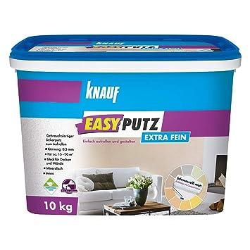 Knauf 4006379067633 Easyputz Kornung Schneeweisser Mineralischer