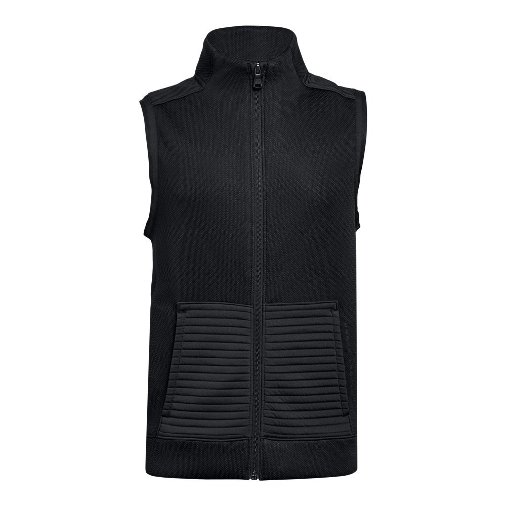 Under Armour Boys Storm Daytona Vest, Black (001)/Black, Youth Large