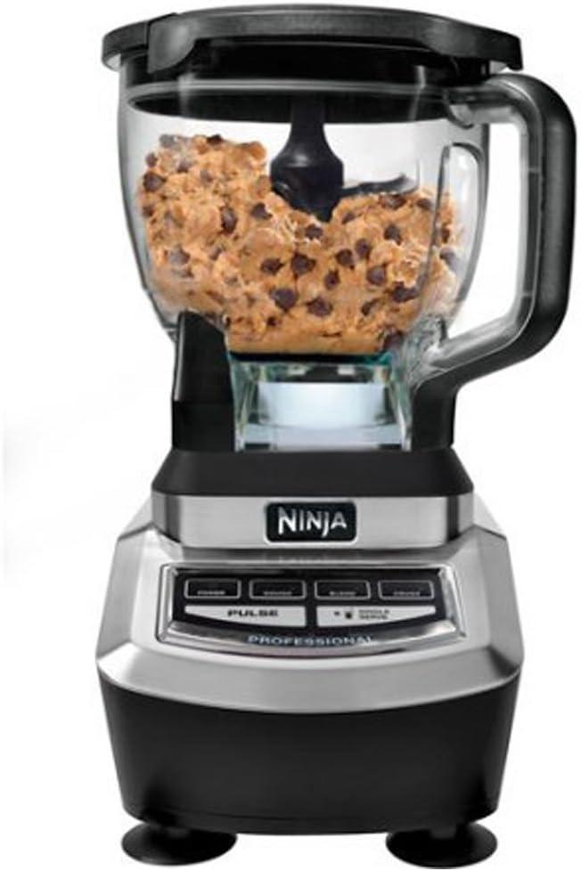 Unknown Mixer Grinder862 Ninja Supra Kitchen System, BL780 Most Viewed, Black/Silver, 17 x 15.8 x 11.8 inches