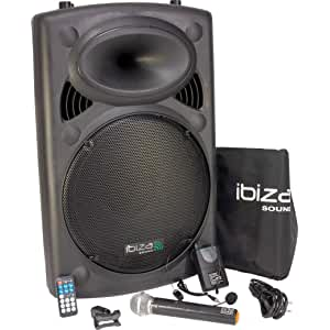 Ibiza Sound PORT12VHF- BT Sistema de sonido portátil 30 cm, USB, Bluetooth, 700 W