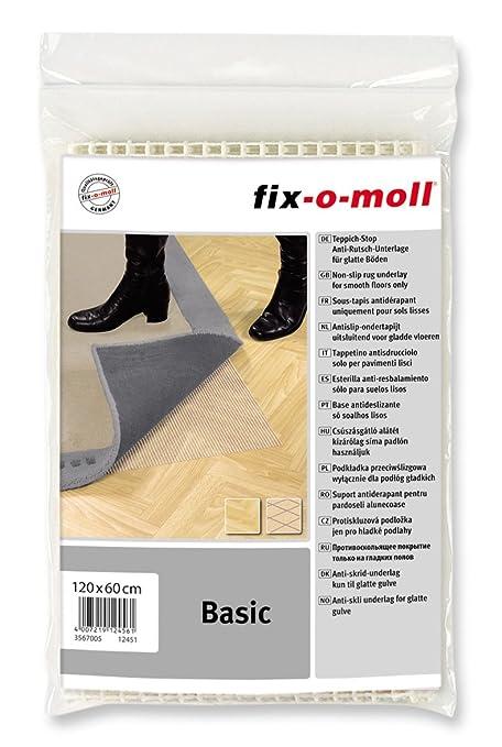 Suki - Esterilla para colocar bajo alfombras (para suelo liso/duro, 60 x