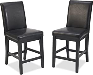 Nantucket Distressed Black Stool by Home Styles