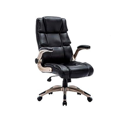 Amazon Com Kadirya Ergonomic High Back Leather Office Chair