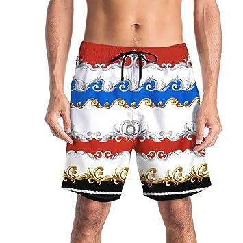 Ta-weo Pantalones de Playa Hombres Surf Trajes de baño Pantalones ...