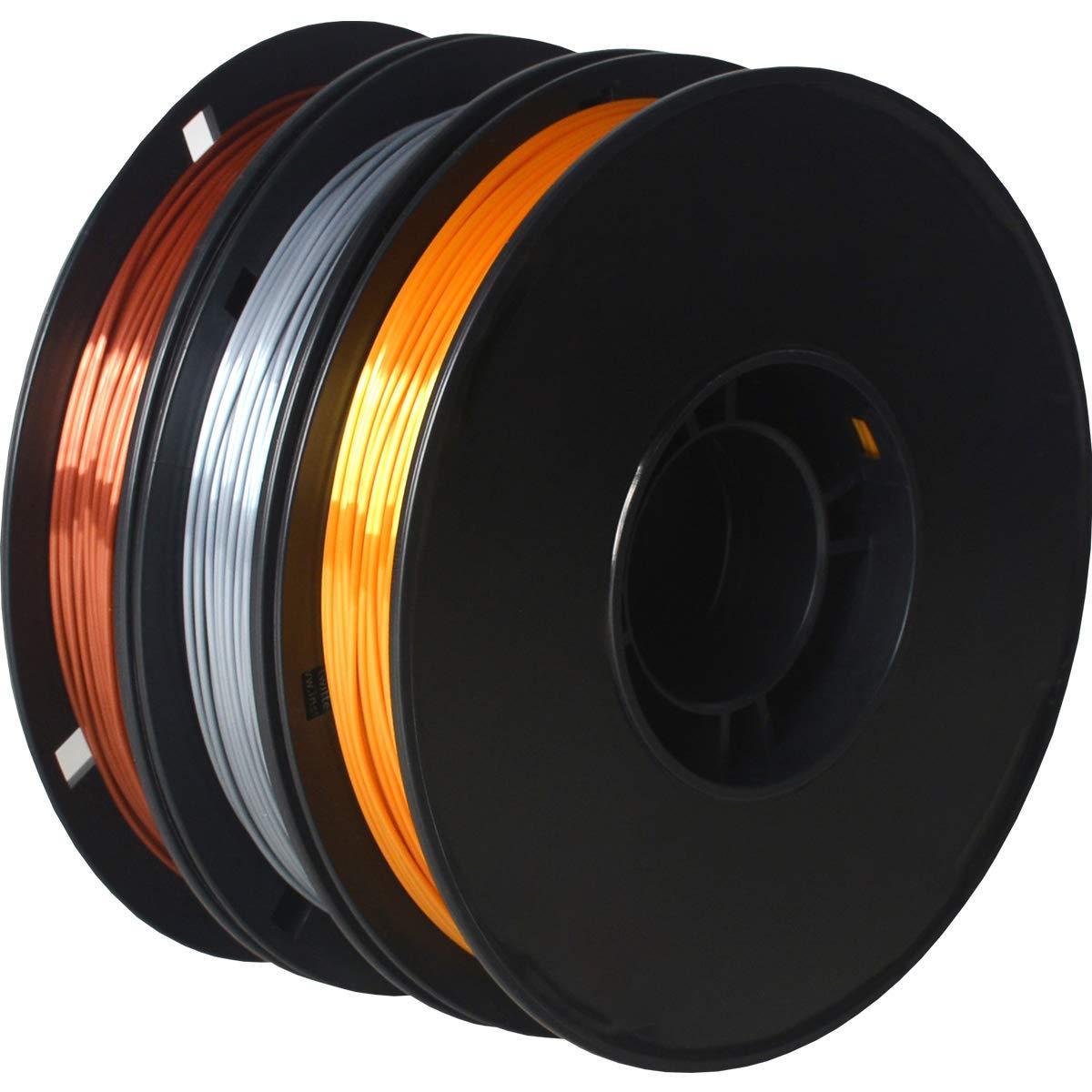 GIANTARM - Filamento de seda PLA 1,75 mm, para impresora 3D, 0,5 ...
