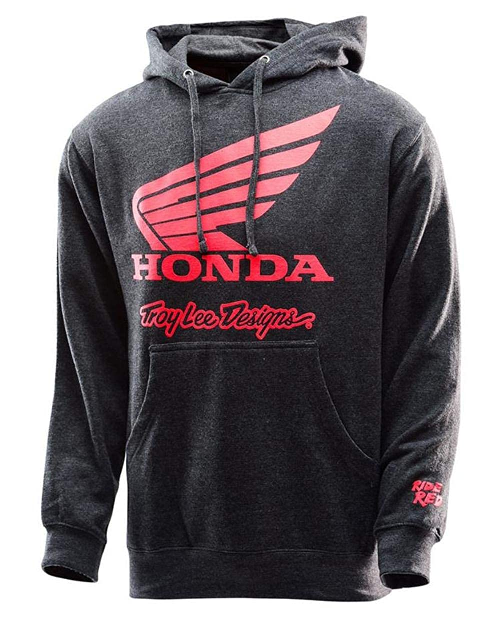 Troy Lee Designs Hoody Honda Wing Grau Gr. XL