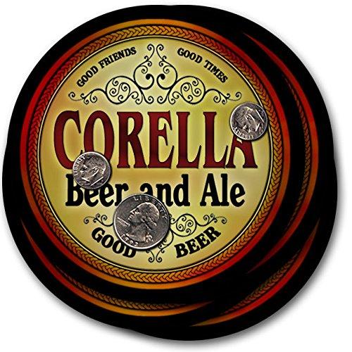 corellaビール& Ale – 4パックドリンクコースター   B003QXALHU