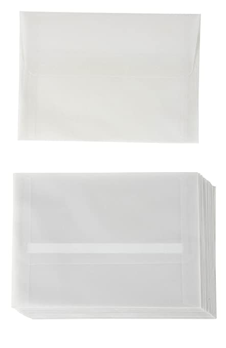 amazon com a7 size invitation envelopes 25 pack 5 25 x 7 25