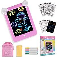 GOLDGE Tablero de Dibujo Mágico, Pizarra Magnética Conjunto Infantil Dibujo & Marco de Fotos Regalos Juguetes para Niños…