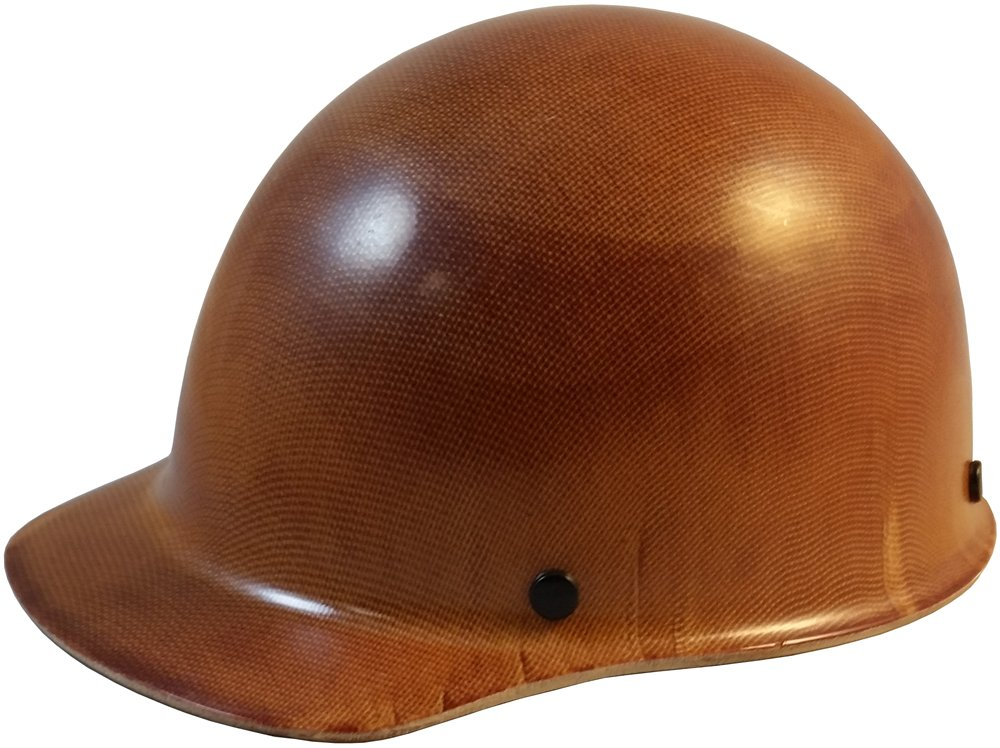 MSA Skullgard (SMALL SIZE) Cap Style Hard Hats with Ratchet Suspension - Natural Tan by MSA
