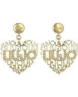 boucles d'oreilles Liujo pour femme Brass LJ825 style décontracté cod. LJ825