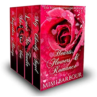 book cover of Hearts, Flowers & Romance: 4 Book Boxed Set!