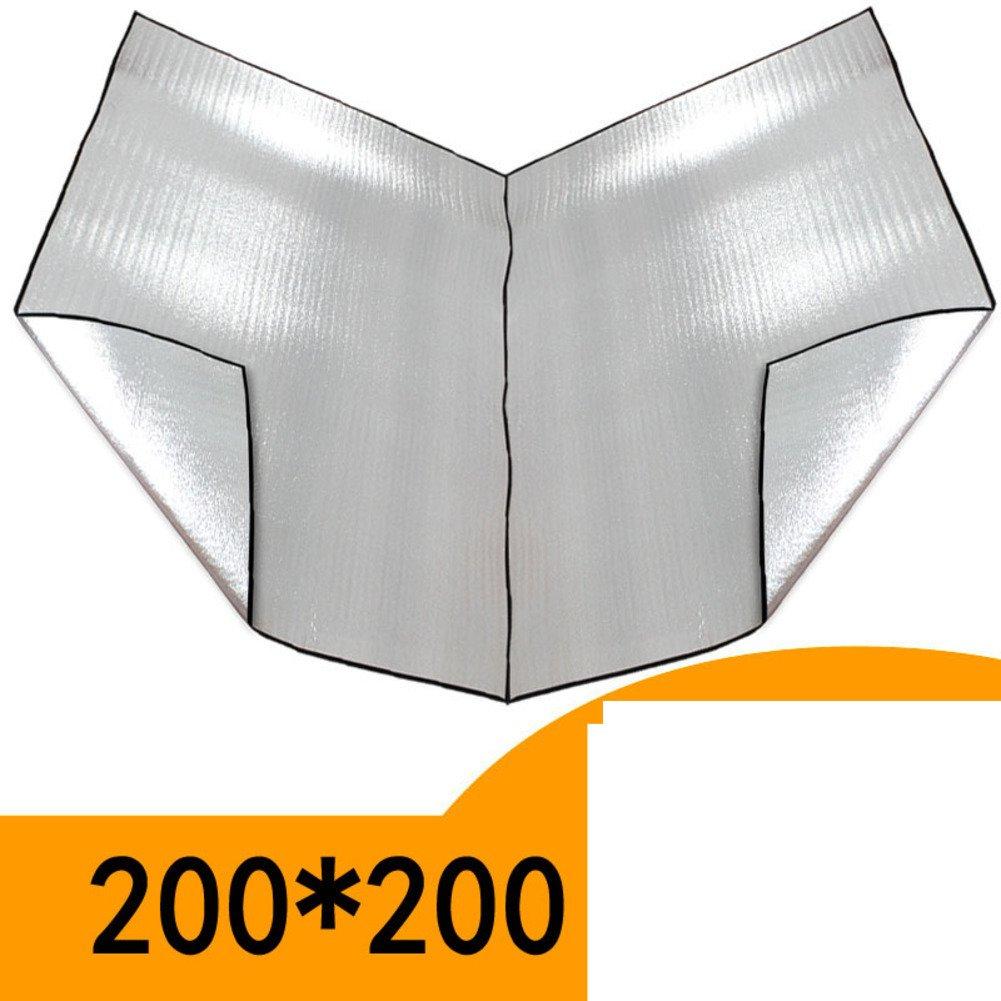 アルミマット/アウトドアテントパッド/ピクニックマット B01LXZPAC9 C C