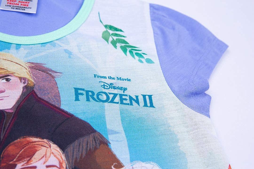 Disney Frozen 2 Girls Nightdress Anna /& Elsa Princess Nightie Ages 3 to 12 Years