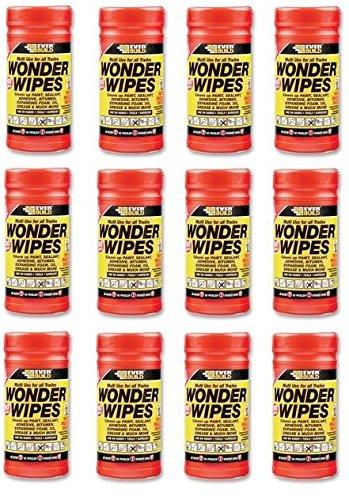 Everbuild Wonder Wipes Tub of 100 x 12