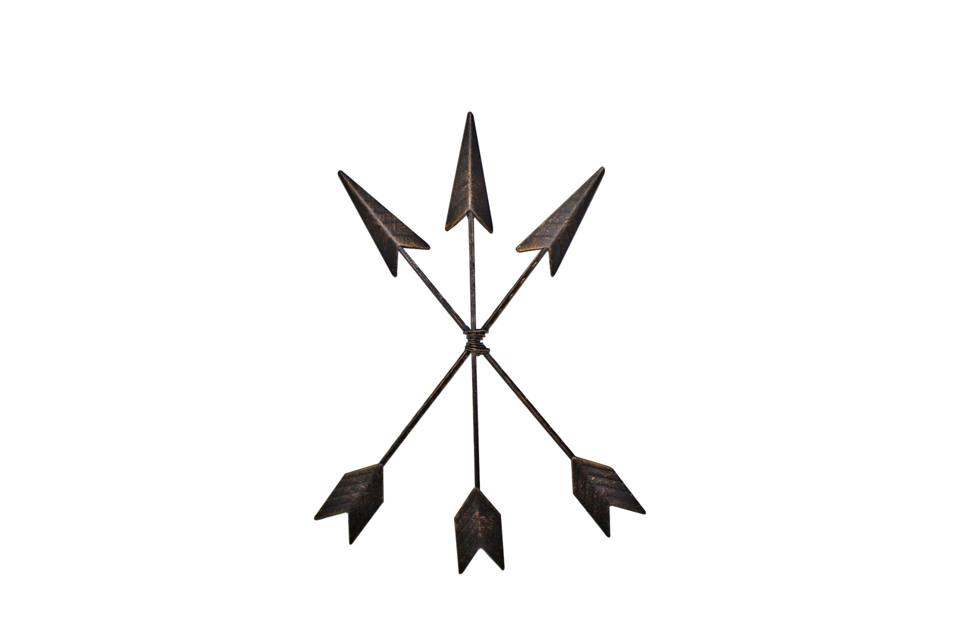 Cast Iron Arrow Wall Decor set of 3 Native American Metal Arrows | Rustic Barn Wood Decorative Sign Room Decor | Farmhouse Decor + Home Decor Accents| Metal Wall Art | Metal Wall Decor | Bedroom Decor