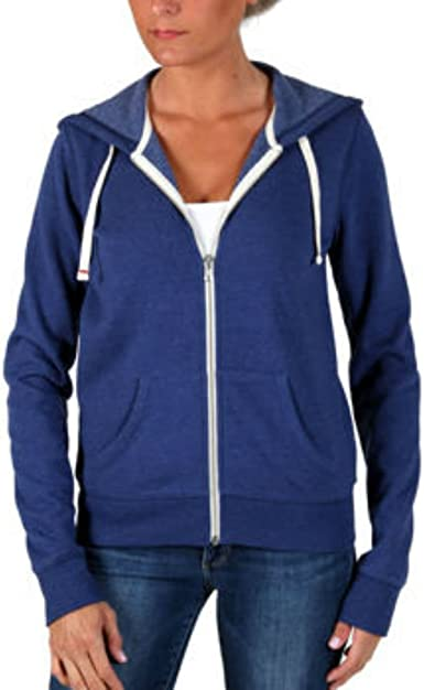 Color Blue NEW Abbot Main Women/'s Full Zip Hoodie Jacket Size S Small
