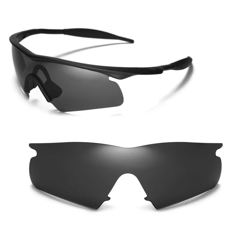 Amazon.com: Walleva Black Lenses for Oakley M Frame Hybrid ...