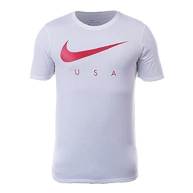 7b0935c085db3 NIKE Mens USA M NK Dry TEE Preseason 873230 at Amazon Men s Clothing ...