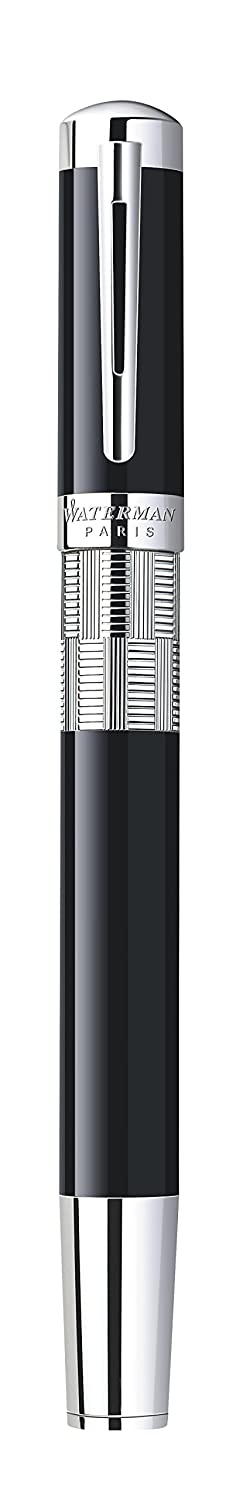 Amazon.com : Waterman Elegance Black, Rollerball Pen with Fine Black refill (S0891450) : Office Products