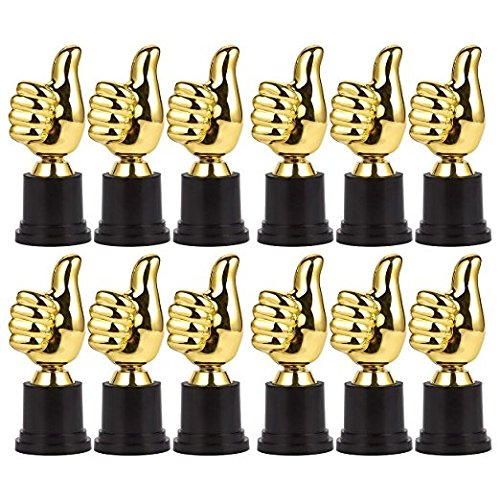 THUMBS UP AWARD TROPHIES (3 DOZEN) - BULK