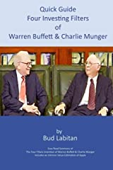 Quick Guide to the Four Investing Filters of Warren Buffett and Charlie Munger Paperback