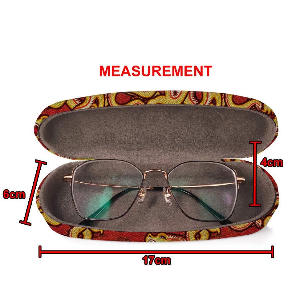 Amazon.com: Carcasa rígida para gafas de sol con gamuza ...