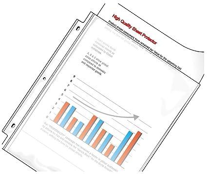 amazon com valueoffice sheet protectors heavy weight acid free