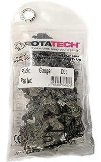 x2 (dos) Auténtico Rotatech cadena para motosierra para ...