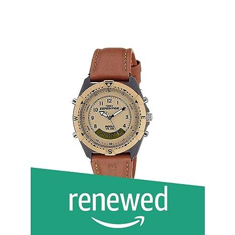 Renewed  Timex Expedition Analog Digital Beige Dial Men's Watch   MF13#CR Men