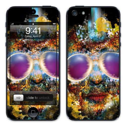 Diabloskinz B0081-0010-0012 Vinyl Skin für Apple iPhone 5/5S Bugeyed