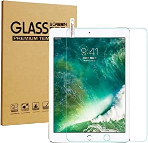 Screen Protector for apple iPad (10.2-inch, 2019Model), Tempered Glass Film Full Cover Safety Guard Protective Glass
