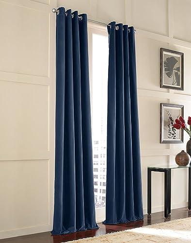 Messina Opulent Velvet Lined Grommet Curtain Panel