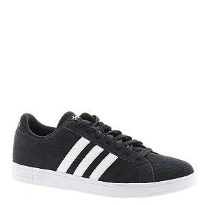 adidas NEO Men's Baseline Shoe,Black/White/White,11 M US