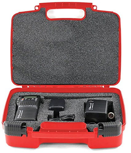 Life Made Better Storage Organizer - Compatible with Midland 75-822 40 Channel CB-Way Radio TM And Accessories- Durable Carrying Case - Red