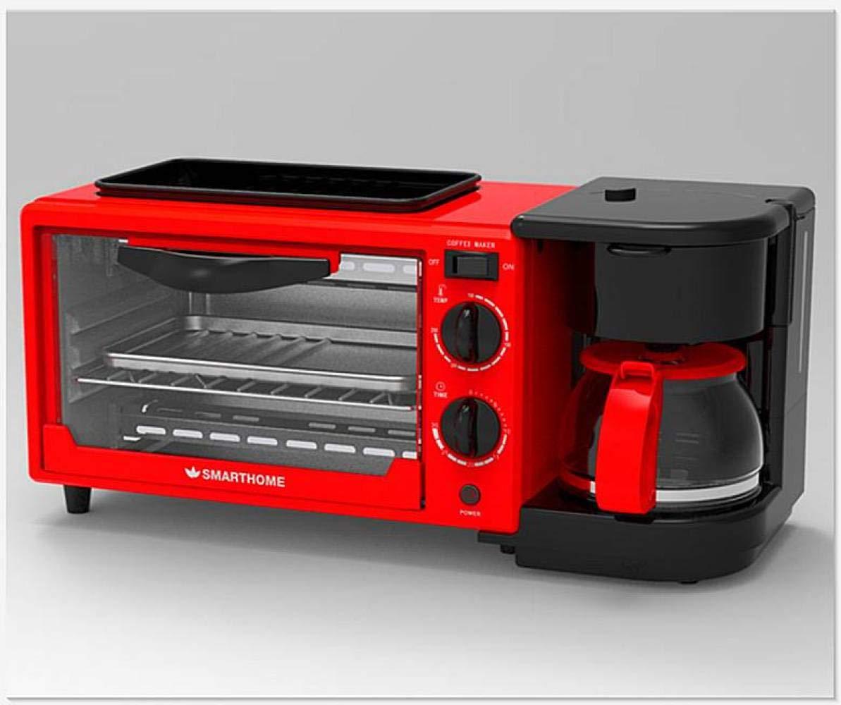Multifuncional Tres-en-uno MOMO Horno de la m/áquina del Desayuno 10L tostadora de la m/áquina del Desayuno