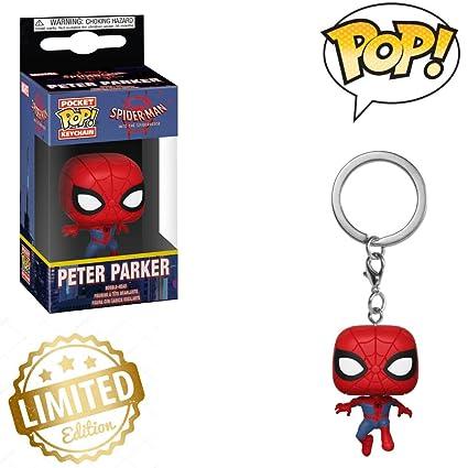Amazon.com: Keychain: Animated Spider-Man Movie - Spider-Man ...